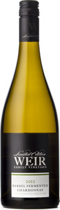 Mike Weir Barrel Fermented Chardonnay 2012, Beamsville Bench, Niagara Peninsula Bottle