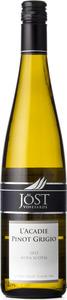 Jost Vineyards L'acadie Pinot Grigio 2012, Nova Scotia Bottle