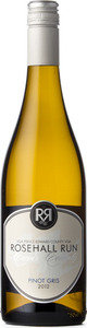 Rosehall Run Cuvée County Pinot Gris 2012, VQA Prince Edward County Bottle