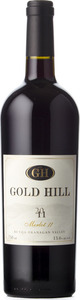 "Gold Hill Merlot ""I I"" 2011, BC VQA Okanagan Valley Bottle"
