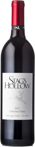 Stag's Hollow Cabernet Franc 2011, BC VQA Okanagan Valley Bottle