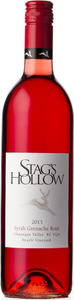 Stag's Hollow Syrah Grenache Rosé 2013, Okanagan Valley, British Columbia Bottle
