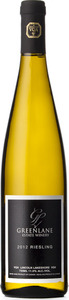 Greenlane Estate Riesling 2012, VQA Lincoln Lakeshore, Niagara Peninsula Bottle