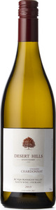 Desert Hills Chardonnay Un Oaked 2013, BC VQA Okanagan Valley Bottle
