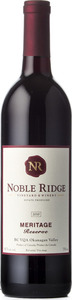 Noble Ridge Meritage Reserve 2010, VQA Okanagan Valley Bottle