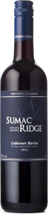 Sumac Ridge Private Reserve Cabernet Merlot 2012, VQA Okanagan Valley Bottle