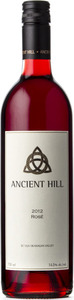 Ancient Hill Rosé 2012, BC VQA Okanagan Valley Bottle