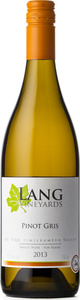 Lang Vineyards Pinot Gris 2013 Bottle