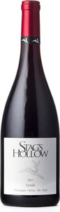 Stag's Hollow Syrah 2011, BC VQA Okanagan Valley Bottle