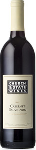 Church & State Cabernet Sauvignon 2011, BC VQA Okanagan Valley Bottle