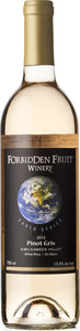 Forbidden Fruit Earth Series Pinot Gris 2013 Bottle