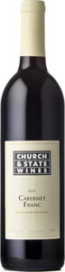 Church & State Cabernet Franc 2012, BC VQA Okanagan Valley Bottle