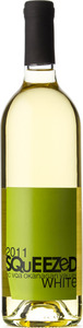 Squeezed Wines White 2011, BC VQA Okanagan Valley Bottle