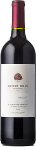 Desert Hills Merlot Prsv 2010, BC VQA Okanagan Valley Bottle