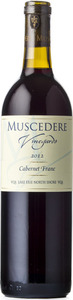 Muscedere Vineyards Cabernet Franc 2012, VQA Lake Erie North Shore Bottle