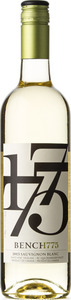 Bench 1775 Sauvignon Blanc 2013, BC VQA Okanagan Valley Bottle