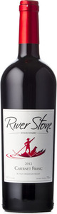 River Stone Cabernet Franc River Rock Vineyards 2012, VQA Okanagan Valley Bottle