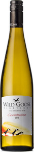 Wild Goose Gewurztraminer 2013, BC VQA Okanagan Valley Bottle