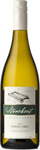 Stoneboat Pinot Gris 2012, BC VQA Okanagan Valley Bottle