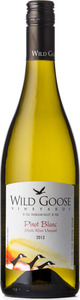 Wild Goose Pinot Blanc Mystic River 2013, BC VQA Okanagan Valley Bottle