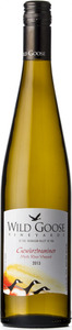 Wild Goose Mystic River Gewurztraminer 2013, Okanagan Valley Bottle