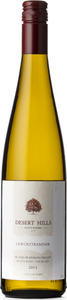 Desert Hills Gewurztraminer 2013, BC VQA Okanagan Valley Bottle