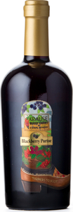Krause Berry Farms And Estate Winery Blackberry Portoe   14, VQA Fraser Valley Bottle