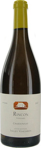Talley Vineyards Rincon Vineyard Chardonnay 2012, Arroyo Grande Valley Bottle