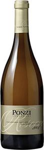 Ponzi Reserve Chardonnay 2011, Willamette Valley Bottle