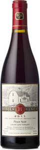 Hidden Bench Locust Lane Vineyard Pinot Noir 2011, VQA Beamsville Bench, Niagara Peninsula Bottle