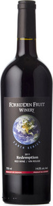 Forbidden Fruit Winery Earth Series Redemption 2011, VQA Okanagan Valley Bottle