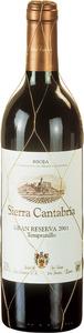 Sierra Cantabria Gran Reserva 2004 Bottle