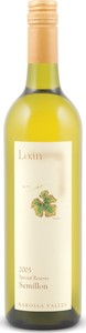 Loan Wines Special Reserve Semillon 2005, Unoaked, Barossa Valley, South Australia Bottle