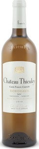 Château Thieuley Francis Courselle Blanc 2010, Ac Bottle