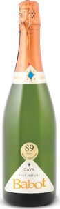 Babot Brut Nature Cava, Do Penedès Bottle