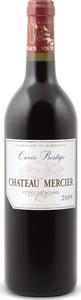 Château Mercier Cuvée Prestige 2009, Ac Côtes De Bourg Bottle