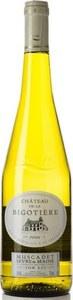 Château De La Bigotière Sèvre & Maine Sur Lie Muscadet 2012, Ac Bottle