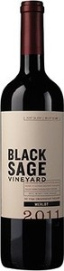 Black Sage Merlot 2011, BC VQA Okanagan Valley Bottle