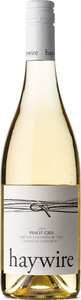 Haywire Pinot Gris 2012, BC VQA Okanagan Valley Bottle