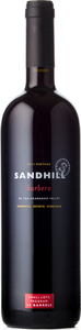 Sandhill Small Lots Barbera Sandhill Estate Vineyard 2011, VQA Okanagan Valley Bottle