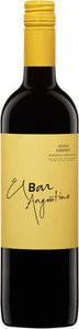 Zuccardi El Bar Argentino Shiraz Cabernet 2013 Bottle