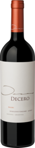 Decero Remolinos Vineyard Malbec 2011, Agrelo, Central Region Bottle