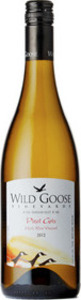 Wild Goose Pinot Gris Mystic River 2012, BC VQA Okanagan Valley Bottle