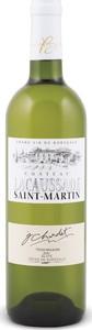 Château Lacaussade Saint Martin Trois Moulins 2010, Ac Blaye Côtes De Bordeaux Bottle