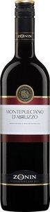 Zonin Montepulciano D'abruzzo 2012 Bottle