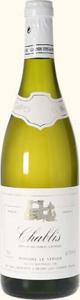 Domaine Le Verger Chablis 2012, Ac Bottle