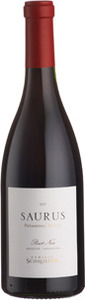 Familia Schroeder Saurus Select Pinot Noir 2012, Patagonia Bottle