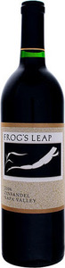Frog's Leap Zinfandel 2011, Napa Valley Bottle