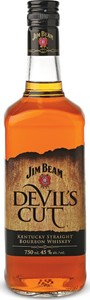 Jim Beam Devil's Cut, Kentucky Bourbon Bottle