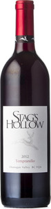 Stag's Hollow Winery Tempranillo 2012, Okanagan Valley Bottle